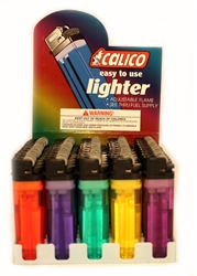 CALICO JEWELTONES DISPOSABLE LIGHTERS 50 COUNT