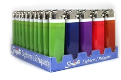 Scripto Views Disposable Lighters 50 Count
