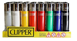 Clipper Lighters Solid Colors 48 Count