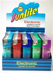 Sunlite Electronic Refillable Lighters 50 Count
