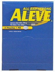Aleve Single Pack 25 Count