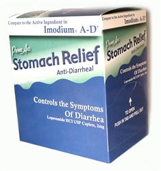 PRIME AID STOMACH RELIEF COMPARE TO IMODIUM A-D 2 PACK 36 COUNT