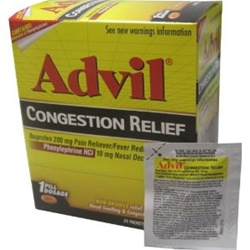 Advil Congestion Relief 1 Pack 25 Count