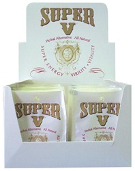 SUPER V HERBAL MALE SEXUAL ENHANCER 36 COUNT