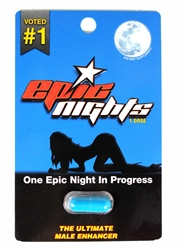 Epic Nights Male Sexual Enhancer 20 Count