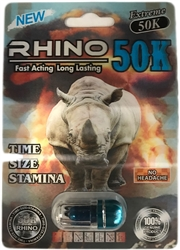 Rhino 50K Male Sexual Enhancer 24 Count