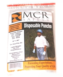 DISPOSABLE RAIN PONCHOS 12 COUNT