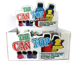 Can Top Turns Can into Bottle 2 Pack 12 Count