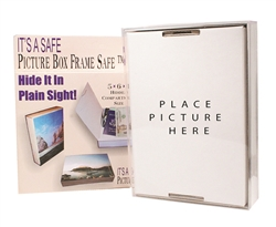Picture Frame Hidden Safe
