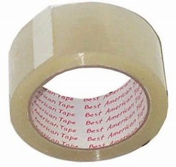 BUDGET CLEAR PACKING TAPE 6 COUNT