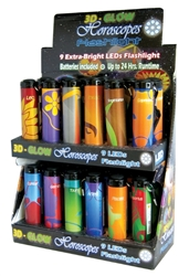 MOSSY OAK 28 LED FLASHLIGHTS 12 COUNT