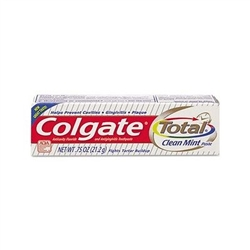 COLGATE TRAVEL SIZE .75 OZ TOOTHPASTE 24 COUNT