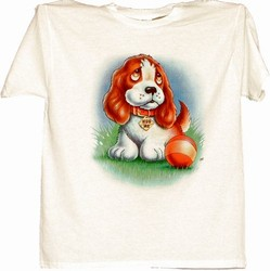 Sad Face Puppy T-shirt