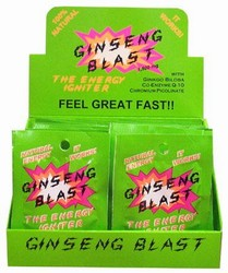 GINSENG BLAST 30 COUNT