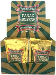 SUPER ENERGY PANAX GINSENG PACKS 36 COUNT