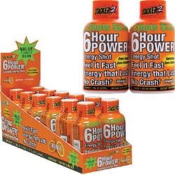 6 HOUR POWER ORANGE 2 PACK 6 COUNT