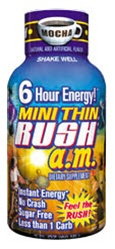 MINI THIN RUSH A.M. MOCHA FLAVOR 12 COUNT