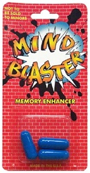 MIND BLASTER MEMORY ENHCANCER 3 PACK 12 COUNT