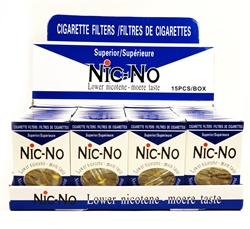 Nic-No Cigarette Filters 15 Pack 36 Count