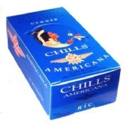 CHILLS AMERICANA SINGLE WIDE ROLLING PAPERS 25 COUNT