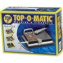 TOP-O-MATIC CIGARETTE MAKING MACHINE