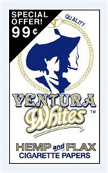 VENTURA WHITES ROLLING PAPERS 24 COUNT