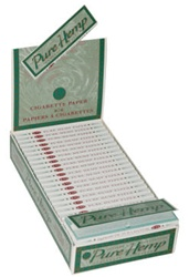 "PURE HEMP 1 1/4"" ROLLING PAPERS 25 COUNT"