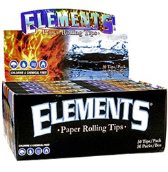 ELEMENTS ROLLING PAPER TIPS 50 COUNT