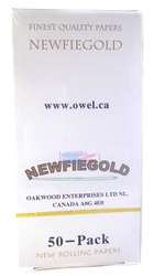 NEWFIEGOLD ROLLING PAPERS 50 COUNT