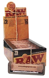 RAW ROLLING MACHINES 79MM 12 COUNT