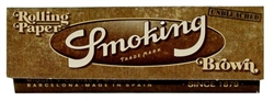SMOKING BROWN UNBLEACHED ROLLING PAPERS 25 COUNT