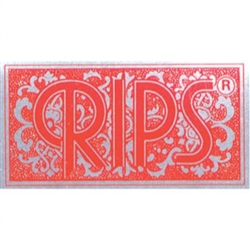 RIPS RED ROLLING PAPERS ON A ROLL 10 COUNT