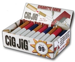 CIG JIG CIGARETTE SAVER ASSORTED COLORS 30 COUNT