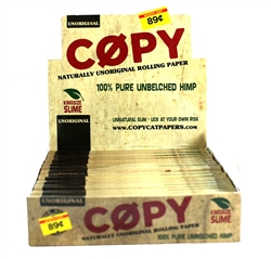 Copy King Size Rolling Papers 24 Count Made by Raw