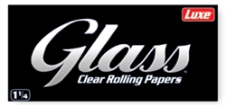 Glass Clear Rolling Papers 1 1/4 Size 24 Count