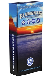 Elements Super Slim Filter Tips 20 Count