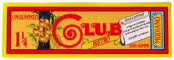 Club Modiano Bistro Ungummed 1 1/4 Rolling Papers 24 Count