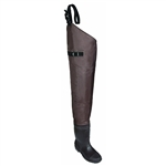 Allen Black River Bootfoot Hip Wader