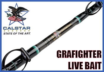 Calstar Grafighter Live Bait Rods