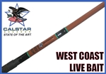 Calstar West Coast Series Live Bait Rods