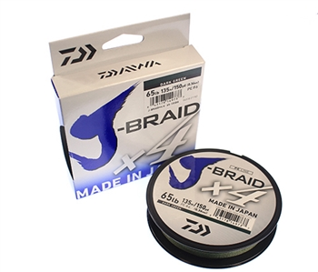 Daiwa J-Braid x4 - 150yd Spool