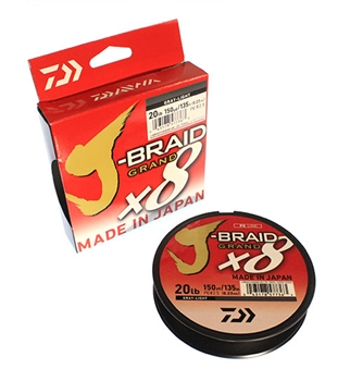 Daiwa J-Braid x8 Grand - 150yd Spool