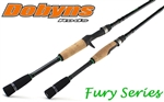 Dobyns Fury Series, Casting and Spinning