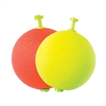 Eagle Claw Weighted Foam Round Snap-On Floats