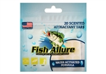 Fish Allure Scented Attractant Tabs