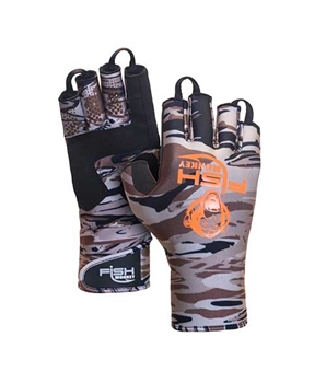 Fish Monkey Backcountry Insulated Half Finger Glove