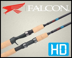 Falcon Rods HD Series, Casting Rods and Spinning Rods, Falcon Bass Fishing Rods