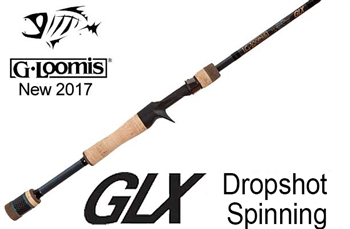 G Loomis GLX Dropshot Spinning Rod