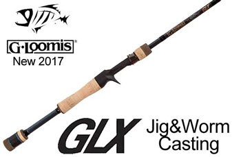 G Loomis GLX Jig Worm Casting Rods