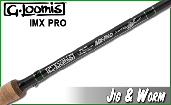 G. Loomis IMX Pro Jig and Worm Rods